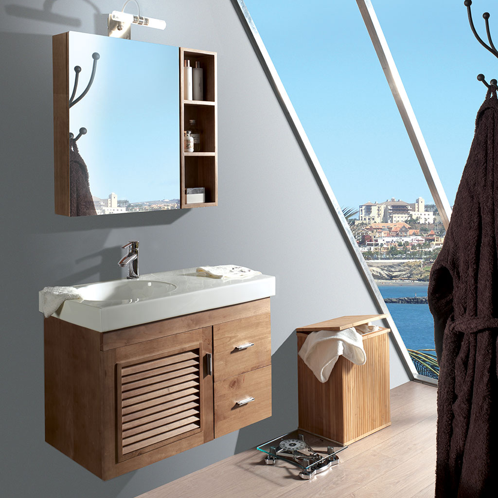Vasque simple randers scandiprojects for Salle de bain komodo