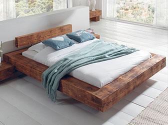 lit double poutre scandiprojects. Black Bedroom Furniture Sets. Home Design Ideas