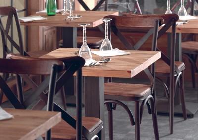 Table bistrot BROCANTE