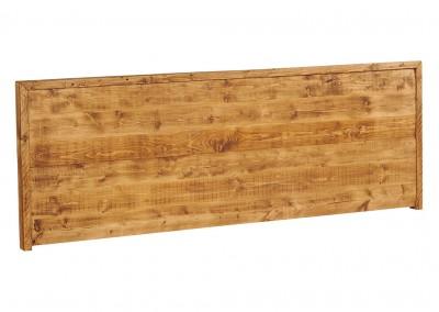 Tête de lit en vieux pin recyclé