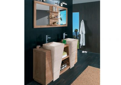 Vasques double scandiprojects for Salle de bain komodo