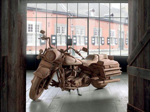 Moto décorative