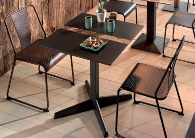 Table bistrot FUSION