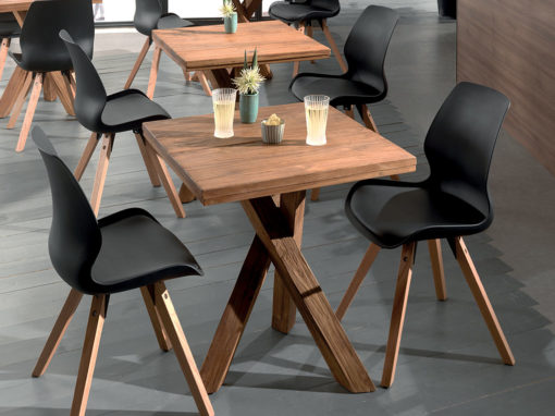 Tables bistrot STOK