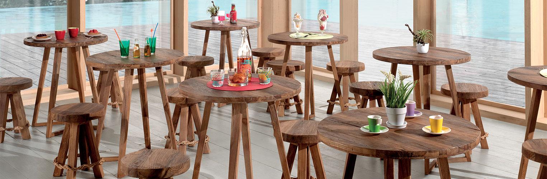 Table bistrot ZIG ZAG