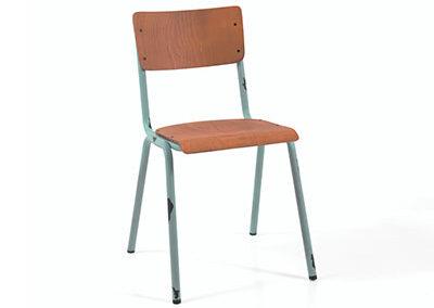 Chaise SKOLE bleu