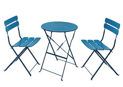 Set de terrasse MAMBO bleu