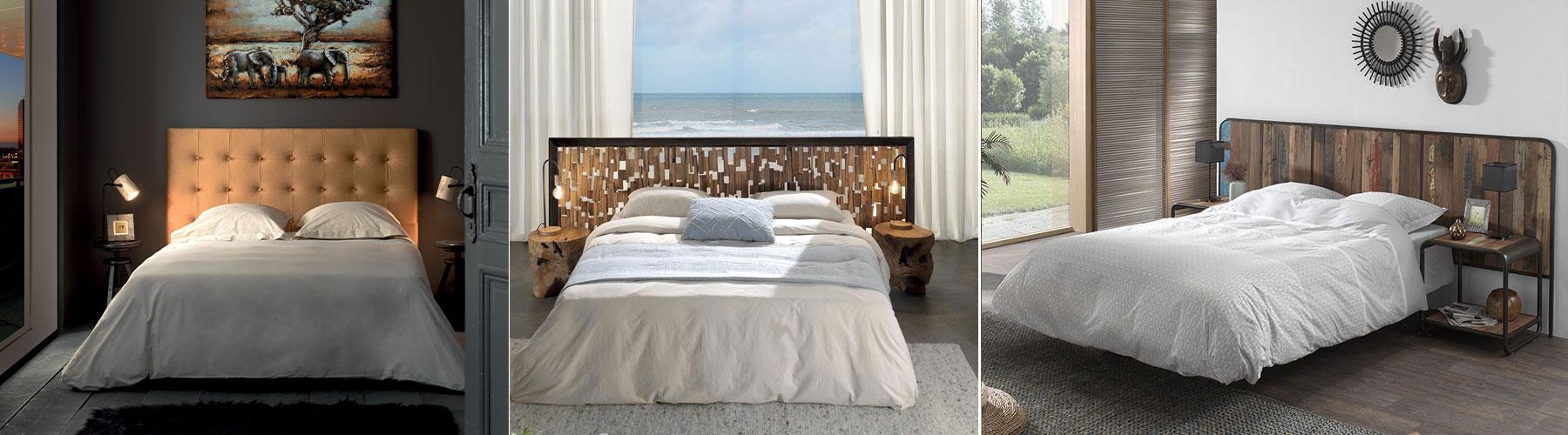 Tête de lit pour l'hôtellerie